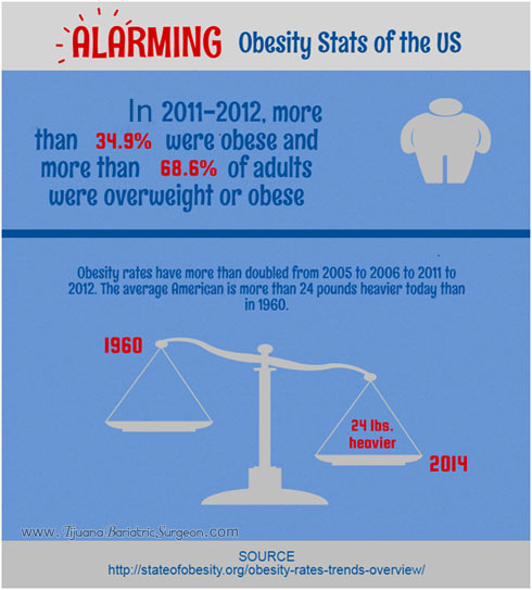 Obesity Statistics United-States - Infographic